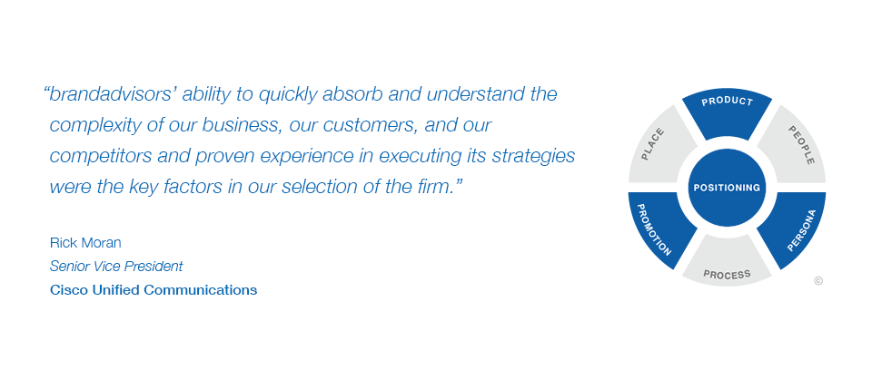 Testimonial: Rick Moran, Senior Vice President, Cisco Unified Communications