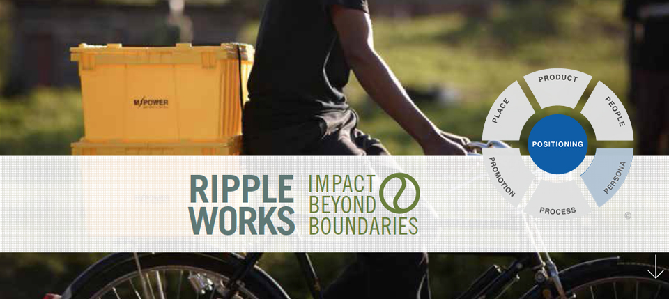 Rippleworks Name, Graphic Identity, and Tagline