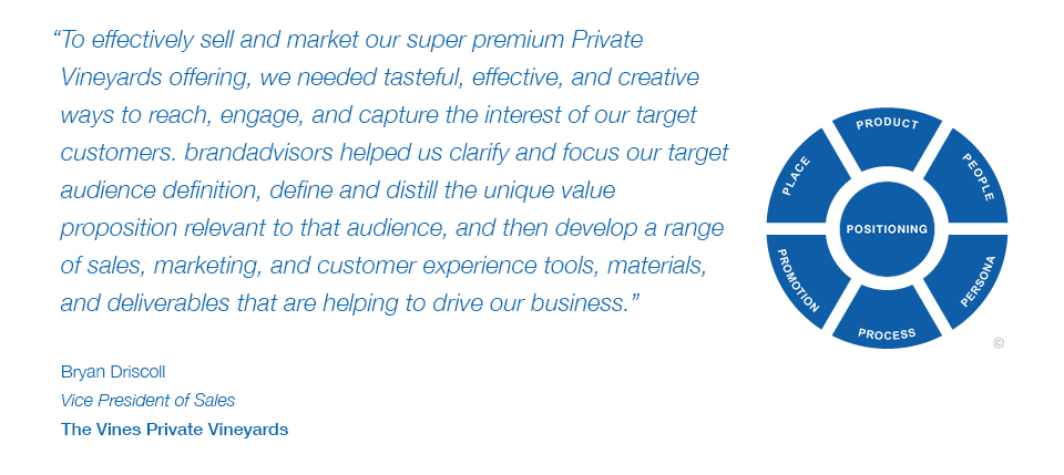Testimonial- Bryan Driscoll, Vice President of Sales, The Vines Private Vineyards