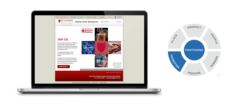 Website - Campaign for Stanford Medicine